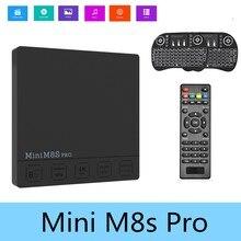 Original Set-top Box Mini M8S PRO-C Amlogic S912 Octa Core TV Box RAM 2GB + ROM 16GB HDMI 2.0 5G WiFi DDR3 Android 7.1