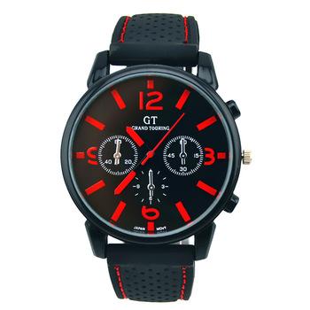 Zegarki meskie na świeżym powietrzu zegarek kwarcowy mężczyzn dorywczo wojskowy zegarki montres mężczyźni silikonowy zegarek sportowy godziny relogio masculino tanie i dobre opinie 20mm Odporny na wstrząsy QUARTZ Stop Okrągły Nie wodoodporne Szkło 40mm GUOTE Moda casual bs045 Klamra 7 5mm 24cm