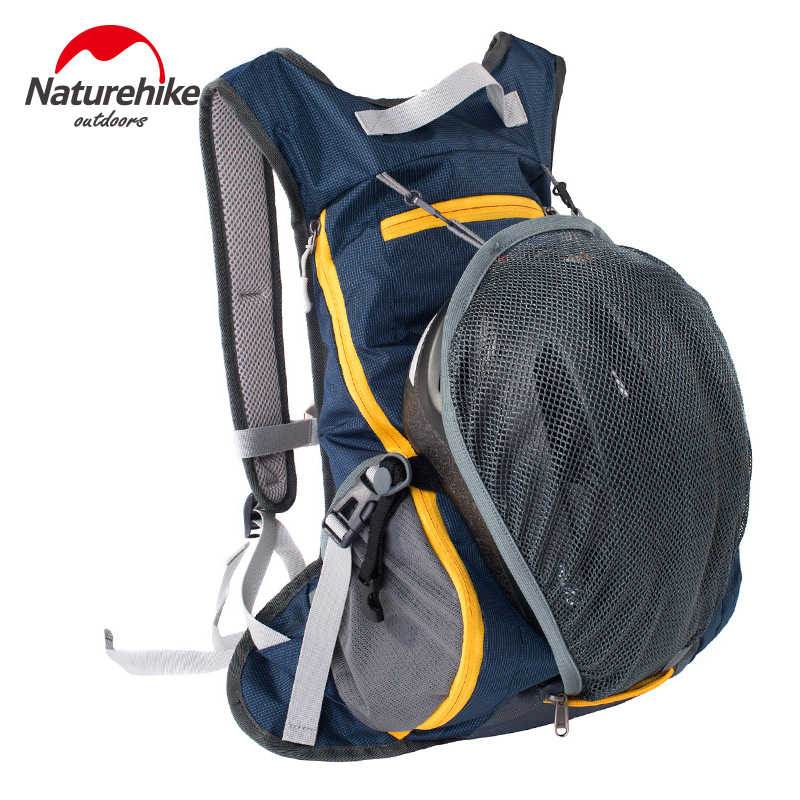 Naturehike Outdoor Rucksack Cycling Backpack Sports Hiking Climbing Hydration Water Bag Pouch Bicycle Knapsack 15L roswheel 2l water bag backpack outdoor bag breathable cycling running hiking climbing bag running hydration backpacks rucksack