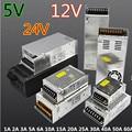 Comutação da fonte de alimentação LEVOU fonte de alimentação tira adaptador AC 100-240 V Transformador DC 12 V 5 V 24 V 24 W 36 W 120 W 200 W 240 W 360 W 600 W