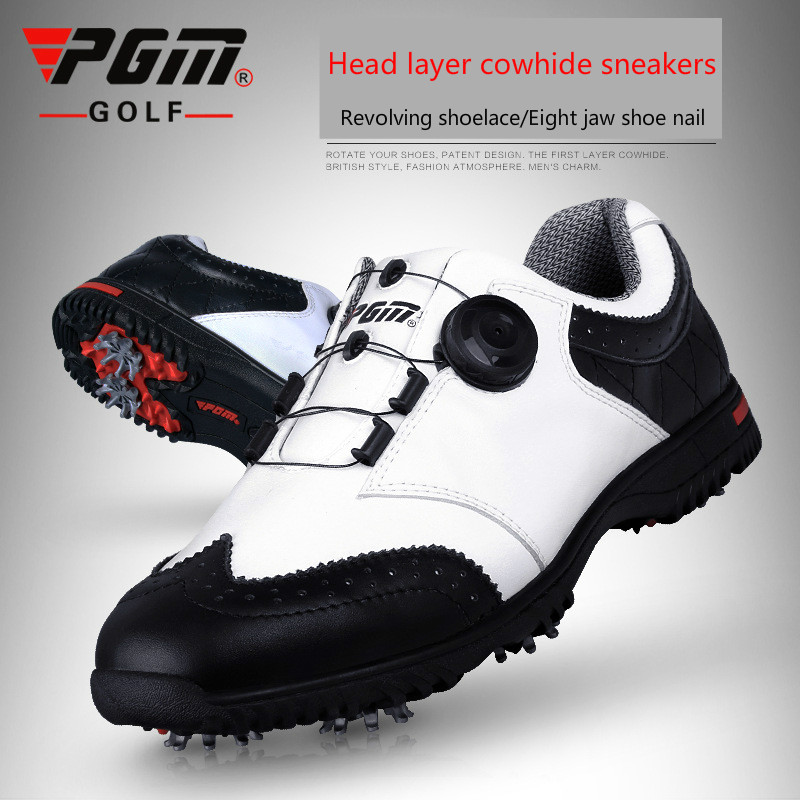 High quality men golf shoes men spring and autumn breathable men shoes Professional training shoes 2017 spring autumn breathable white wild men casual shoes 100% handmade pigskin leather comfort men shoes high quality size40 44