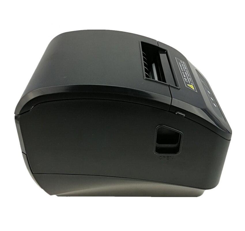 En gros haute qualité pos imprimante 80mm reçu thermique petit billet code à barres imprimante automatique machine de découpe imprimante - 2
