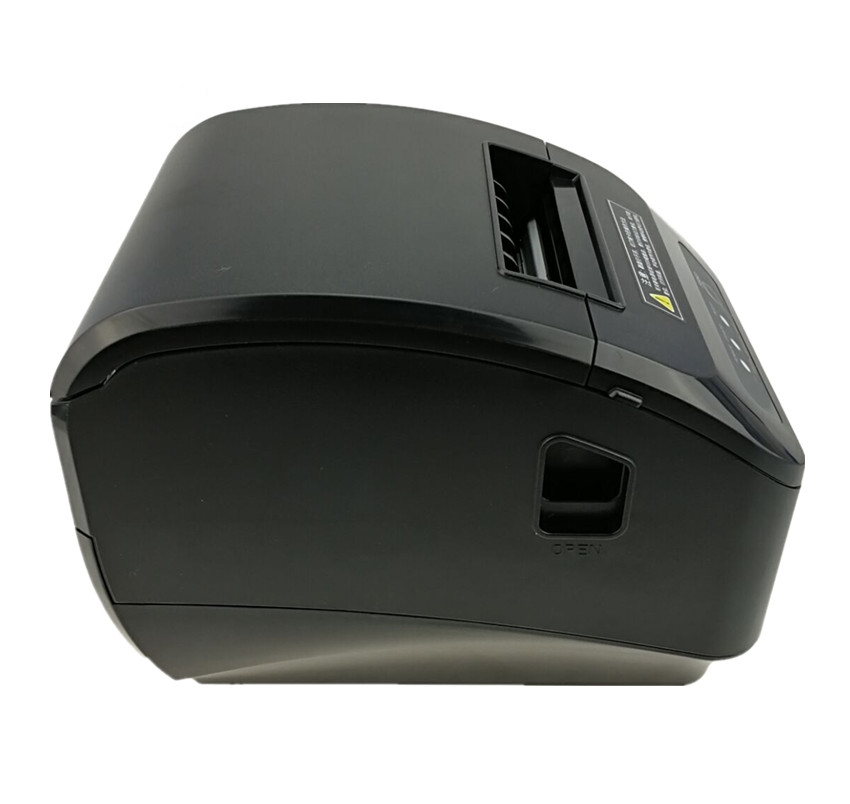 Image 2 - wholesale High quality pos printer 80mm thermal receipt Small ticket barcode printer automatic cutting machine printer-in Printers from Computer & Office