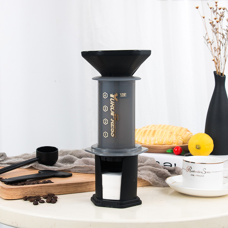 Image 4 - chineses version Yuropress  French Press Espresso Portable Coffee  Maker Household DIY Coffee Pot Air Press Drip Coffee MachineCoffee  Pots