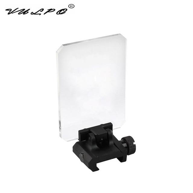 VULPO 새로운 유형 전술 범위 빨간 점 & 녹색 점 시력 렌즈 보호 덮개는 20mm Picatinny 가로장에 적합하다