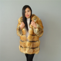 Red Fox Fur Heavy Heating In Winter Fox Fur Coat Women S Coat Liling
