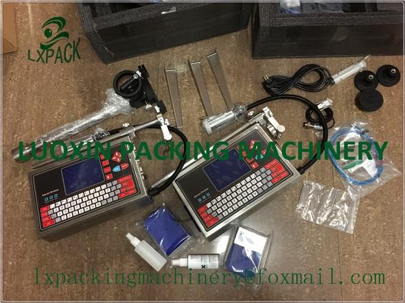 """""""LX-PACK"""" už mažiausią gamyklos kainą - visa rankiniu būdu naudojama rašalinių spausdintuvų technologija, įkraunama baterija, spausdinimo galvutės pritaikymas"""