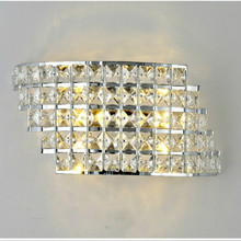 Wall Sconce Modern LED Crystal Wall Lamp For Home Lighting Wall Sconce Arandela Lamparas De Pared Luminarias De Interior edison vintage wall lamp for home indoor lighting stair light industrial wall sconce arandela lamparas de pared