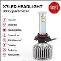 Coche de luz led de las luces exteriores 80 W 9600LM 9004 9007 h4 bombilla led Kit de Conversión de 9006 led H1 H3 h7 H11 H13 Faro Super Brillantes