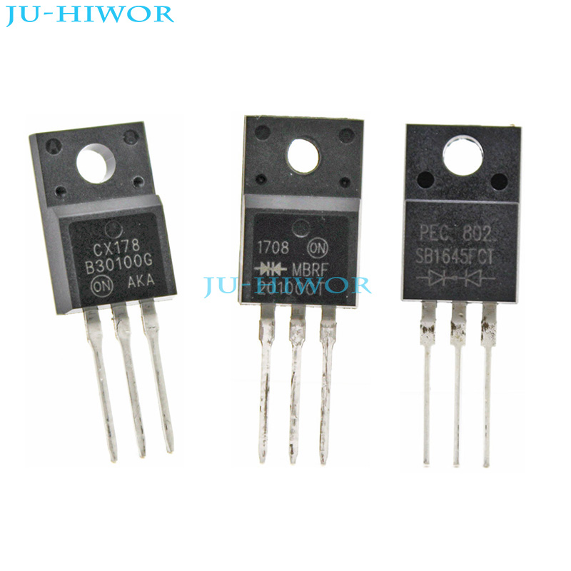 10pcs FCH10A10 Schottky Barrier Diode TO-220F NEW
