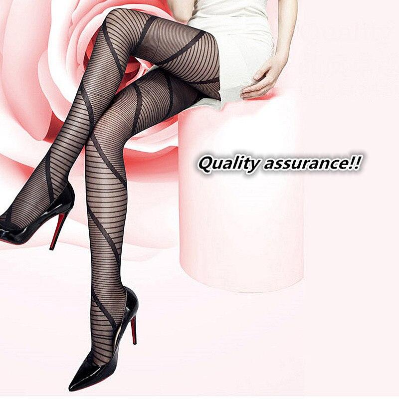 Big size Sexy Full Foot Womens Long Stockings thin Semi Sheer Tights Pantyhose Panties Wholesales Free Shipping
