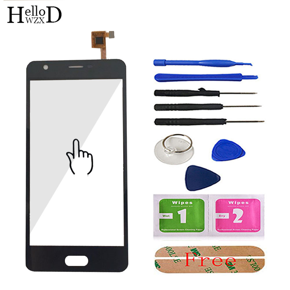 HelloWZXD 5.0'' Touch Glass For Doogee X20 Touch Screen Glass Digitizer Panel Front Glass Lens Sensor Capacitive Tools Adhesive