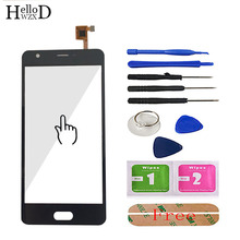 HelloWZXD 5.0 Touch Glass For Doogee X20 Touch Screen Glass Digitizer Panel Front Glass Lens Sensor Capacitive Tools Adhesive
