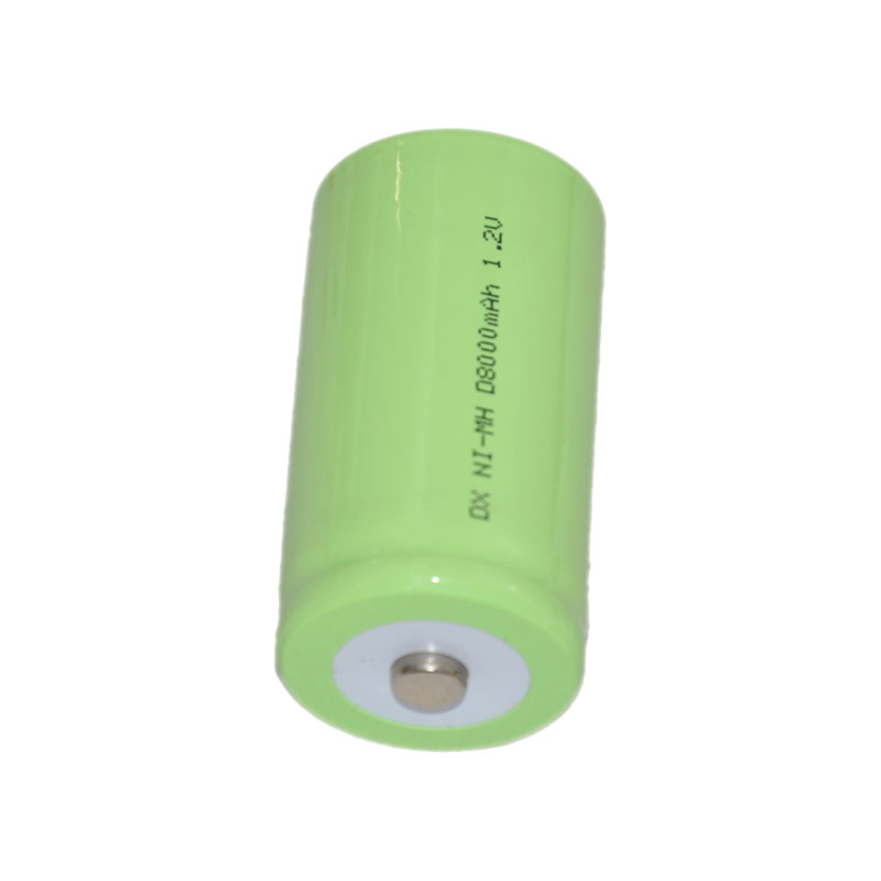 2pcs 1.2v rechargeable Ni-Mh nimh battery cell 8000mah Size D LR20 R20 for torch and water heater gas oven cooker burner