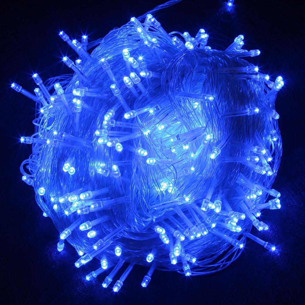 LED String Light 10M 20M 30M 50M 100M AC220V Xmas ünnepi fény - Üdülési világítás - Fénykép 2