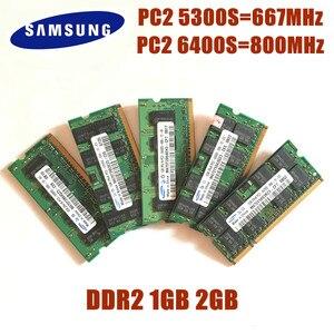 Memoria originale per Laptop SAMSUNG 2GB 1GB 4GB, RAM per Laptop 6400S 4200S 1G 2G 4G DDR2 533 667 800 MHz 5300S 6400S(China)