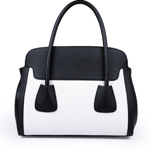 Hot Sale Classical Panelled Smile Face Messengerbag Fashion Shoulderbag