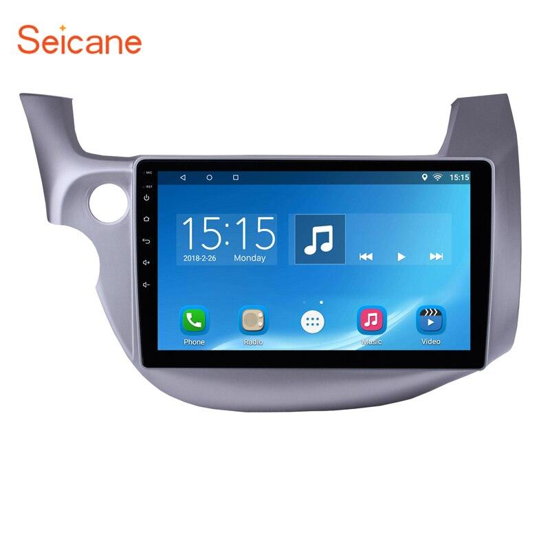 Seicane Quad-core Android 8.1/7.1 10.1 Écran Tactile Bluetooth 2Din Voiture Radio GPS pour 2007-2013 honda avec Commande Au Volant