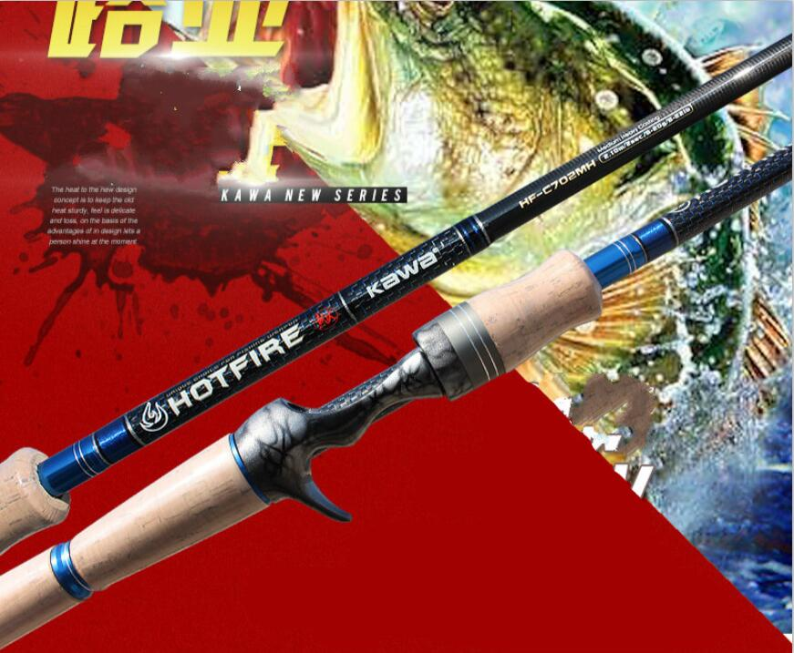 Lure Rod 1.98m ML /2.1m M 2 Section Snakehead Bass Catfish Fishing Rod Ultra-light Carbon Spinning Lure Rod Fishing Gear camouflage color 2 4m casting lure rod carbon m hard fishing rod fishing gear snakehead fishing rod for black fish pesca vissen