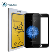 VALAM Tempered Glass Screen Protector For iPhone 6 9H Hardness plus Full Cover 3D Curved Edge 6s