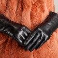 Free Shipping High Quality Fashion Women Gloves Leather Gloves Sheepskin Gloves Warm Wrist Women Gloves Ku-027