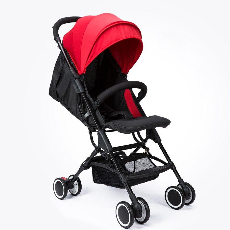 LULUTE bébé poussette assise légère pliante quatre roues amortisseur nouveau-né YOYA PLUS bébé poussette
