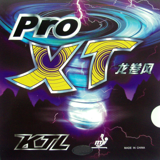 KTL Pro-XT Pips-In Table Tennis PingPong Rubber with Sponge