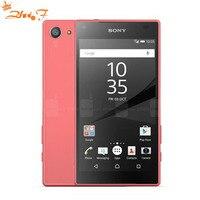 Original Unlocked Sony Xperia Z5 Compact E5823 GSM 4G LTE Android Octa Core RAM 2GB ROM 32GB 4.6 8MP Fingerprint 2700mAh