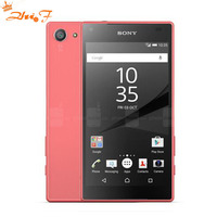 Original Unlocked Sony Xperia Z5 Compact E5823 GSM 4G LTE Android Octa Core RAM 2GB ROM 32GB 4.6 8MP Fingerprint 2700mAh