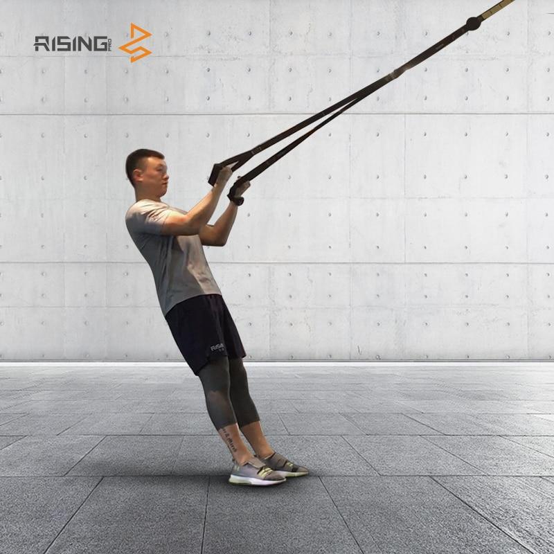 Faixas da resistência equipamento crossfit força pendurado cinta de treinamento fitness exercitador workout suspensão trainer cinto