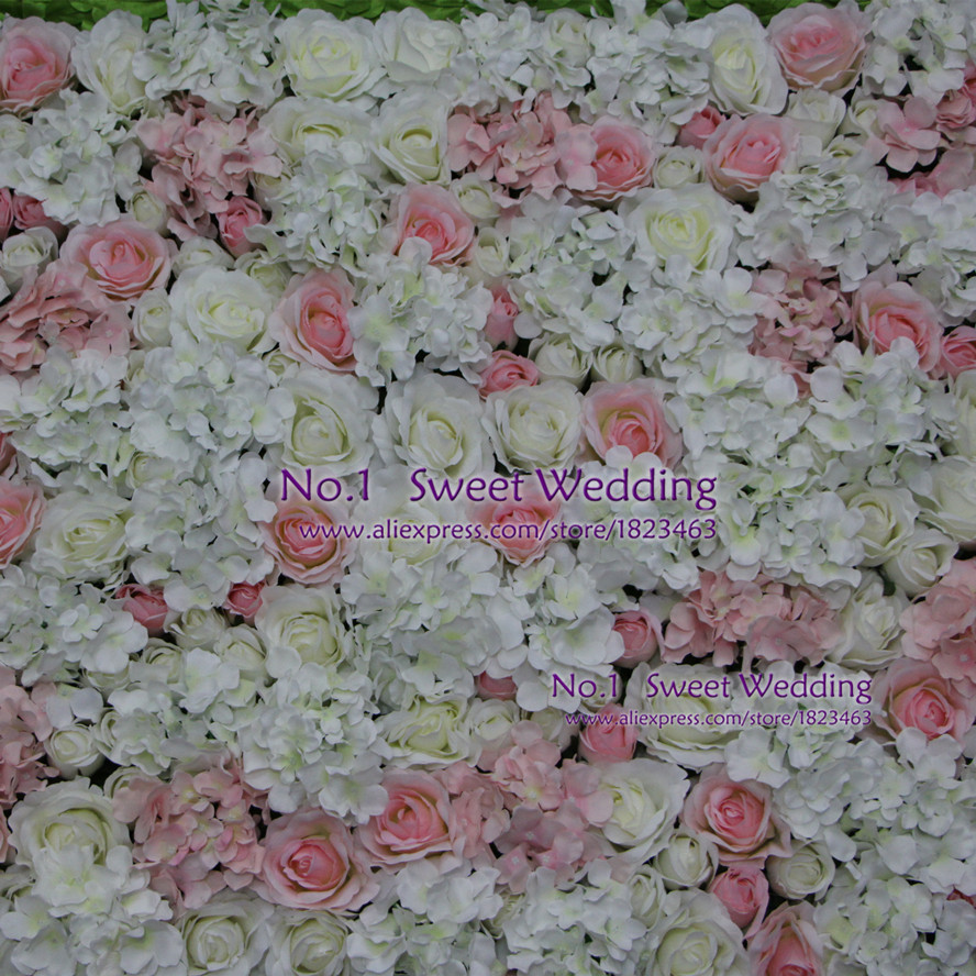 Artificial flowers wedding decoration white light pink rose and artificial flowers wedding decoration white light pink rose and hydrangea fake flower wall for backdrop in artificial dried flowers from home garden on junglespirit Gallery