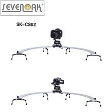 Sevenoak SK-CS02 Pro DSLR Camera 1/2 Circle Slider Dolly Track Video Stabilizer for Canon Nikon Sony
