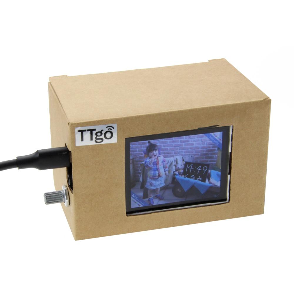 TTGO T Gallery ESP32 2.4 inch LCD Display Development Board ESP 32 WiFi Bluetooth Module