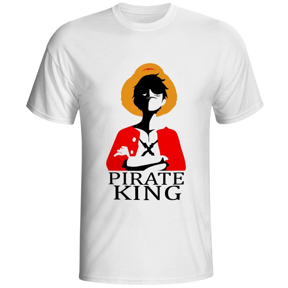 One Piece T Shirt Brand Men T-shirt Funny Luffy T Shirts Zoro y Nami - Ropa de hombre