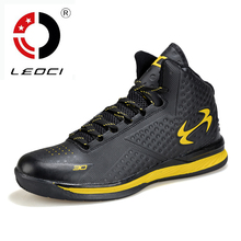 LEOCI Spring 2016 Basketball Shoes For Men Women Rubber Sole Basketball Sneakers Sport Shoes Chaussure Basket Homme Femme