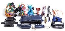 Russian B9 Two Way Car Alarm System + Engine Start LCD Remote Control Key Fob Keychain For 2-way Security Twage StarLine B9 B 9