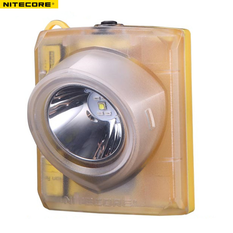 Explosion-proof Headlamp NITECORE EH1S CREE XP-G2 S3 LED max.260LM Intrinsically safe LED headlamps for mining risk industries nitecore eh1 explosion proof headlamp cree xp g2 s3 led headlight usb cable adapter adhesive mount industrial lighting