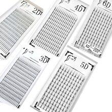 HBZGTLAD 0.07/0.10 thickness High Quality Pre fanned 2D 3D 4D 5D 6D 7D 8D 9D Volume Lashes Eyelash Extension