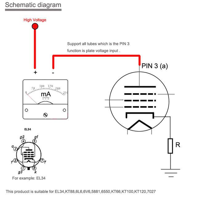 6v6 Plate Voltage