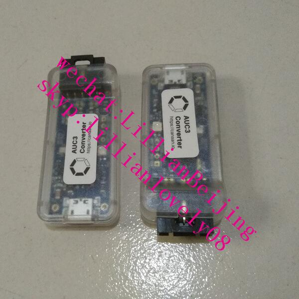 2pcs of AUC3 convertor avalon AUC3 converter card avalon connector with 1pc of 5pin AUC3 cable for Avalon Miner 741, 851, 921(China)
