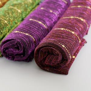 Image 5 - สวย! Magic Filamentเลื่อมผู้หญิงมุสลิมHijabs Shimmer Shawl Hijabsริ้วรอยอิสลามผ้าคลุมไหล่ผ้าพันคอหัว