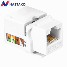 Cat5e Cat5 Keystone Jack UTP network module RJ45 connector Information socket Outlet cable Adapter Keystone FOR AMP Punch Down цена
