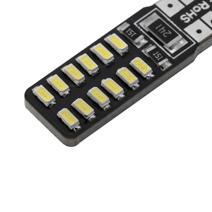 Image 5 - Bombilla led canbus para coche, T10 Canbus, 24led, 3014smd, w5w, t10, Smd, 100 t10, 24smd, sin errores Obc, 194 Uds. Por lote, venta al por mayor