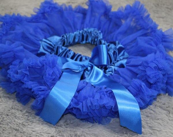 Пышная юбка для малышей Мягкая шифоновая Пышная юбка-пачка для малышей Юбка-пачка для маленьких девочек детская одежда юбка-пачка для новорожденных - Цвет: Синий