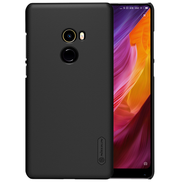 size 40 20bce f5cac US $7.19 28% OFF|case for xiaomi mi mix 2 case cover Nillkin Frosted PC  Plastic hard back cover gift phone holder for xiaomi mix 2 case 5.99''-in  ...