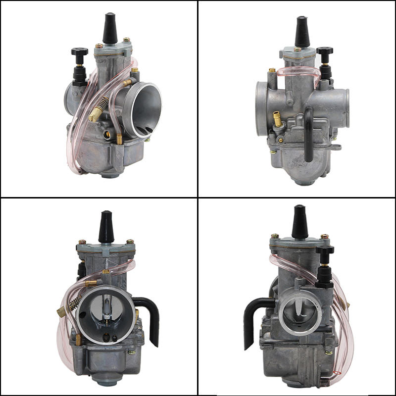 Image 3 - ZS Racing 2T 4T Universal Keihin Koso OKO Motorcycle Carburetor Carburador 21 24 26 28 30 32 34mm With Power Jet For Racing Moto-in Carburetor from Automobiles & Motorcycles
