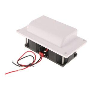 Воздушный Вентиляционный вентилятор для кемпера, белый, постоянный ток 25 Вт