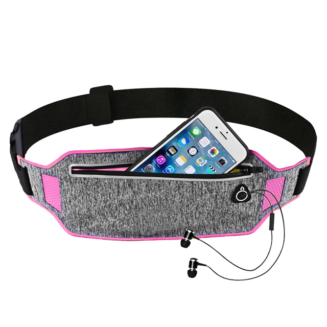 Outdoor Running Waist Bag Waterproof Mobile Phone Holder Jogging Belt Belly Bag Women Gym Fitness Bag Lady Sport Accessories 1