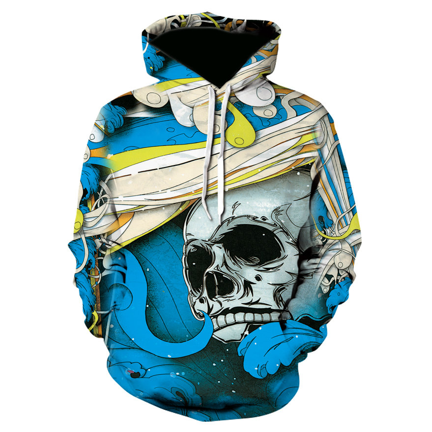 2018 Brand Hoodies Men 3d Punisher Long Sleeve Pullovers Hoodie Sweatshirt Fashion Mens Hoody Tracksuit Sweat Casual Streetwear