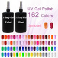 Wholesale New Brand Sunrim Nail Polisher New Nai Art UV Gel Soak off uv colo gel 162 Colors Optional 250ml